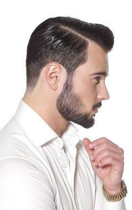 slicked back hairstyle Cool Men Hair Looks