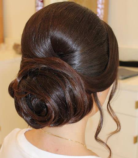 sophisticated bouffant hairstyle hairstyles for brides and bridesmaids