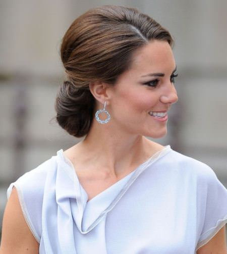 sophisticated formal chignon buns
