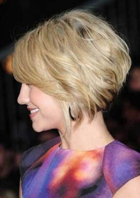 stacked bob hairstyles for older women