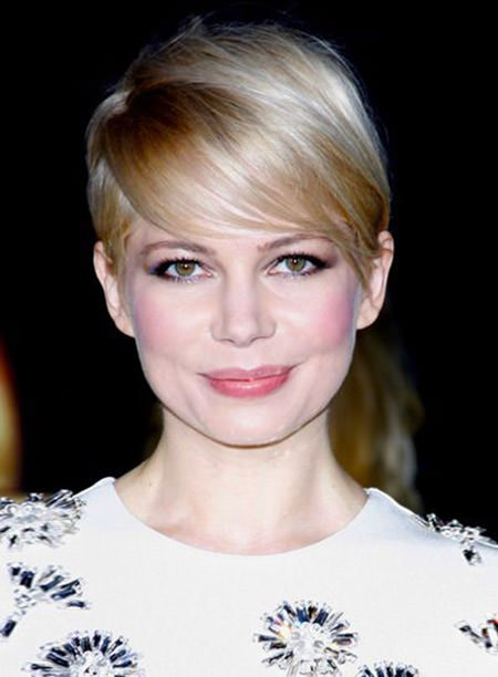 straight blonde pixie with defined bangs short blonde hairstyles