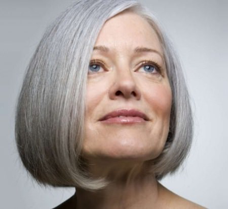 straight gray bob haircuts for women over 70