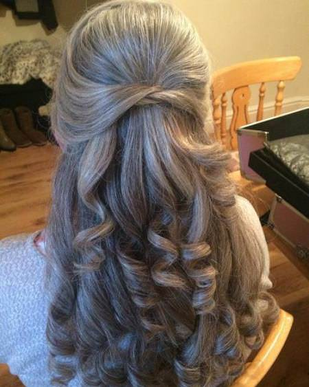 sweet knotted spirals haircuts for women over 60