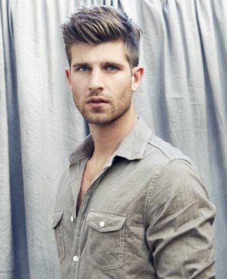 swept up hairstyles for men