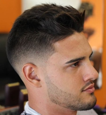 tousled top and short sides Shaved Sides Hairstyles and Haircuts for Men