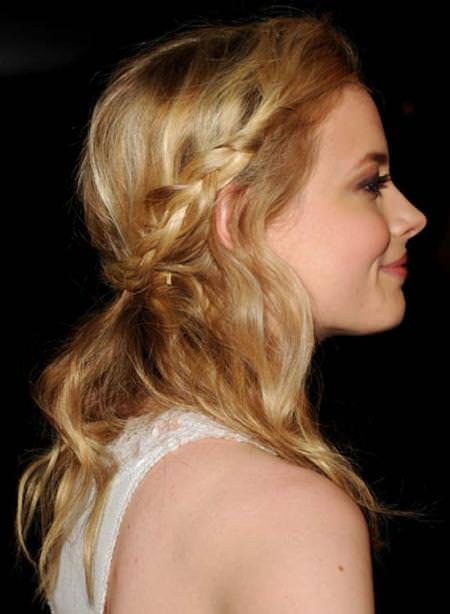 twisted and braided hair bridal hairstyles