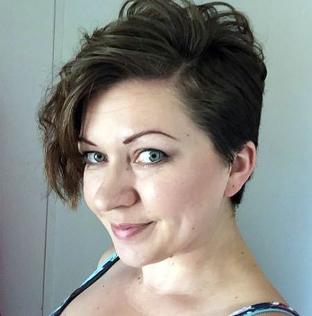 wavy pixie with long side bangs wavy pixie cuts