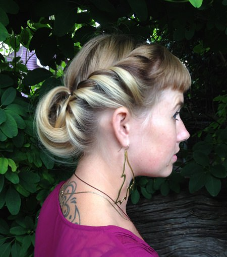 when pining is everything french braid hairstyles