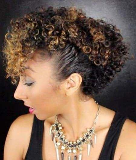 ctwisted sister low bun updos for curly hair