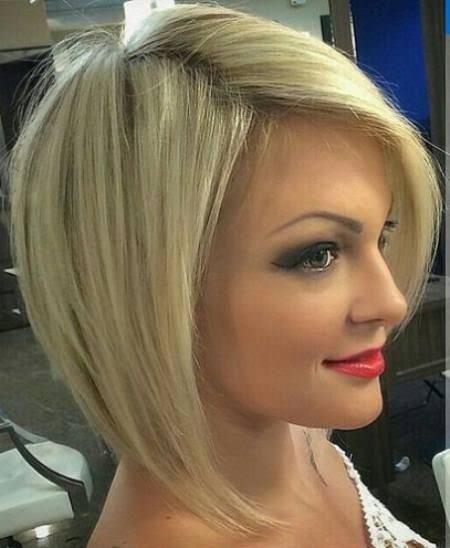 A line bob haircut medium bob hairstyles