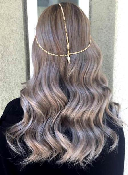 Ash bronde ombre blonde hair looks