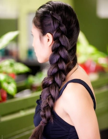 Big side braid hairstyles