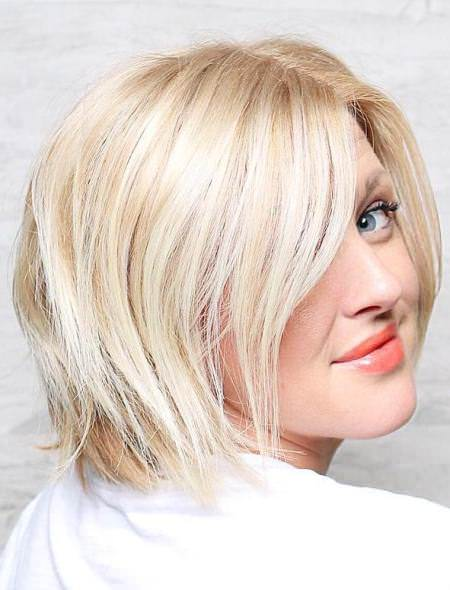 Blonde shoulder length bob medium bob hairstyles