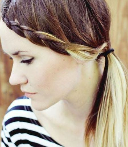 braided bangs braided hairstyles
