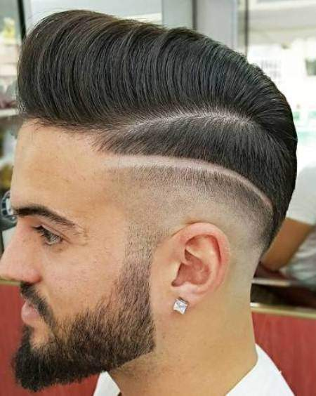 Designed cut hairstyles and haircuts for men