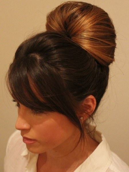 Easy volume upod homecoming updos