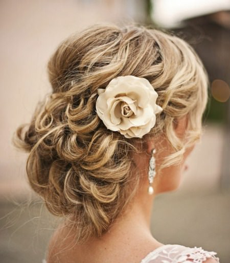 Gorgeous waved updo updos for women
