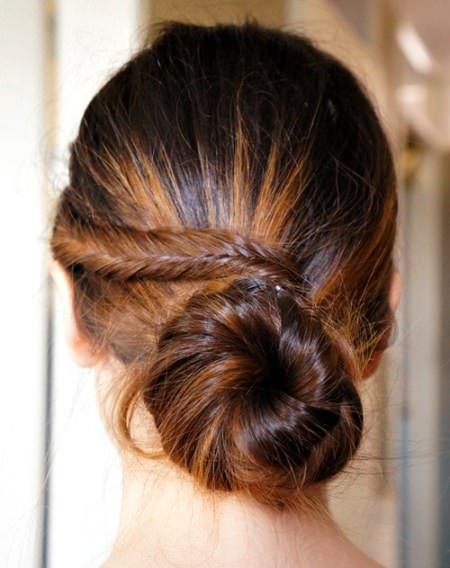 Home coming updo inpired fishtail homecoming updos