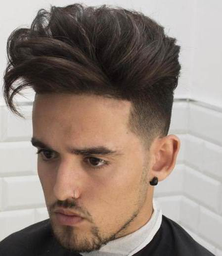 Long tousled short sides hairstyles and haircuts for men