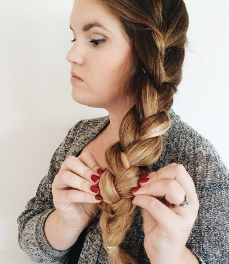 cSmall dutch side braid hairstyles