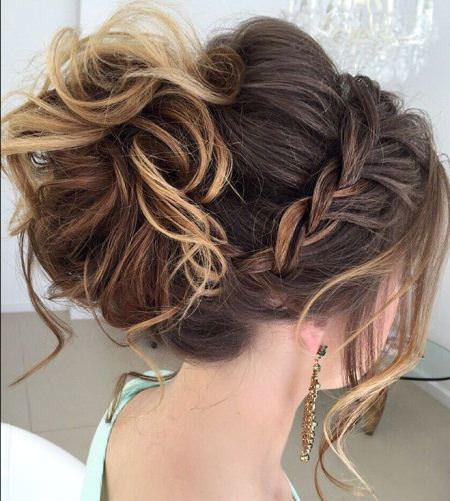 xaccent braid prom updos for women