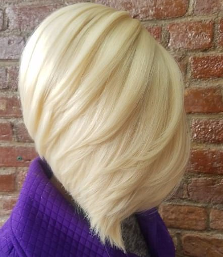Platinum blonde weave hairstyles for black women