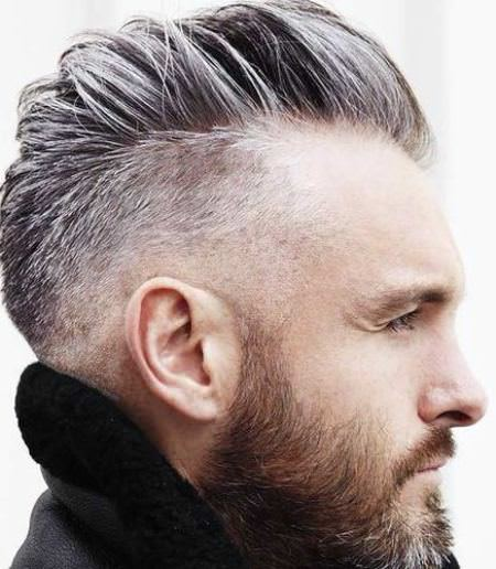 The side swept undercut hairstyles and haircuts for men