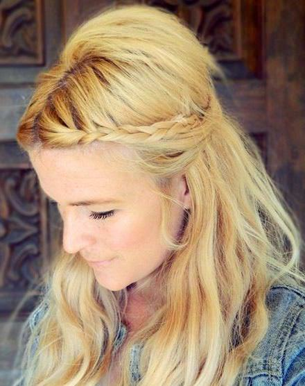 Two minutes braided hairstyles
