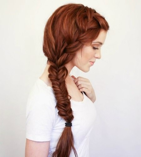 bohemian side braid hairstyles