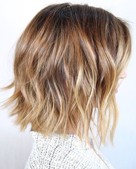 bronde bob with highlighted locks lob blonde bobs for women