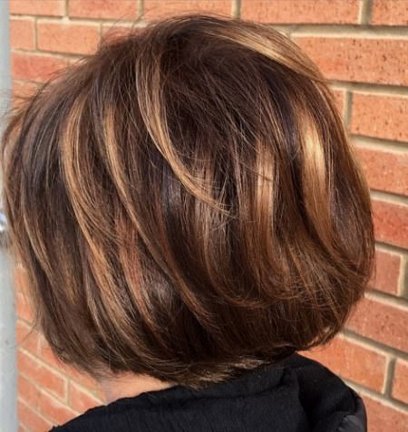 brown toned coloring balayage short hair looks