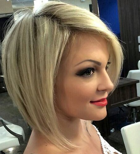 classic bob with modern blonde bobs for women