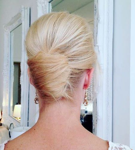 classic twist for shorter hair french twist updos