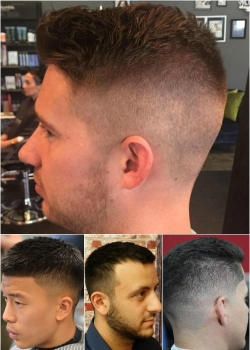 crew cut hairstyles and haircuts for men