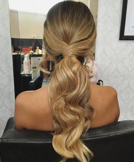 curled up messy ponytail messy ponytail hairstyles