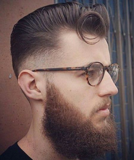 curly q pompadour hairstyles for men