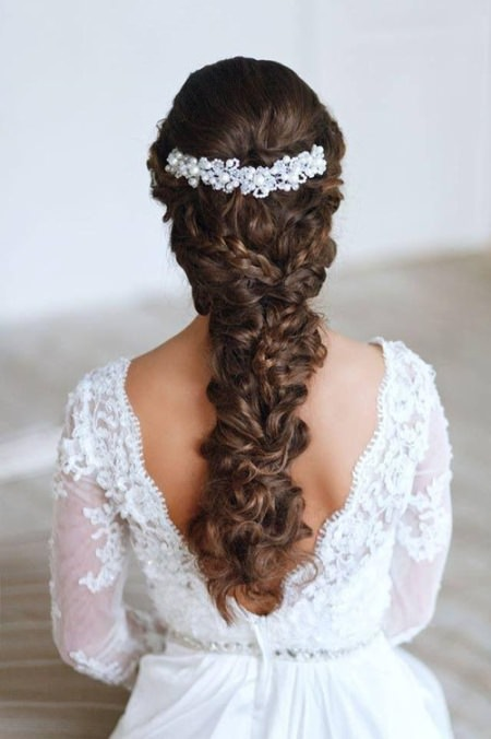 curly wedding hairstyle wedding curly hairstyles