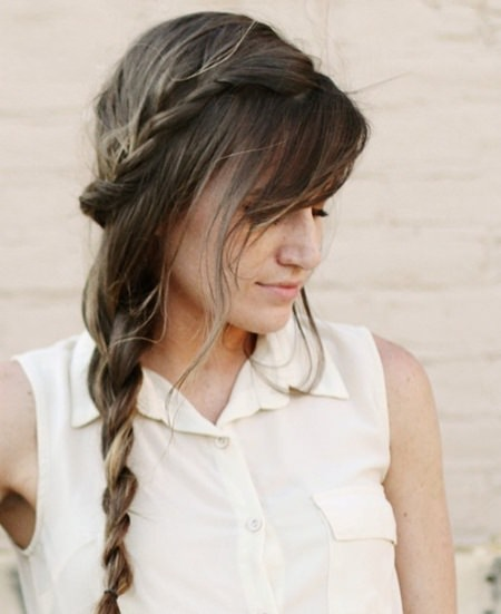double braid side braid hairstyles