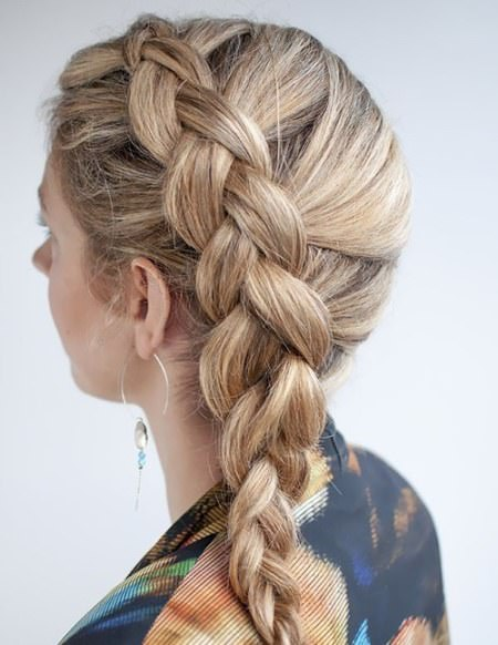 dutch side braid hairstyles
