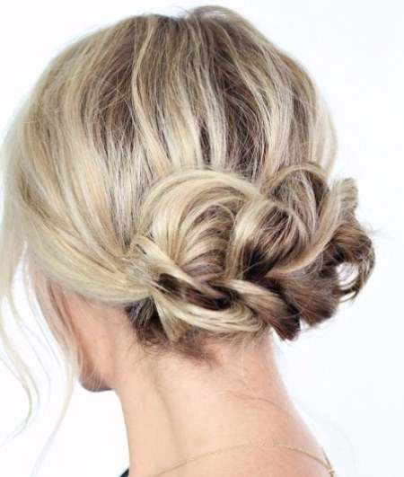 easy Braided formal hairstyle braided hairstyles