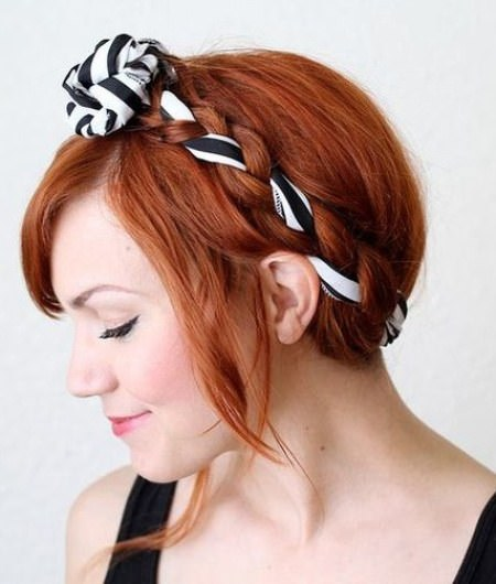 easy updo with fabric maiden updos for long hair