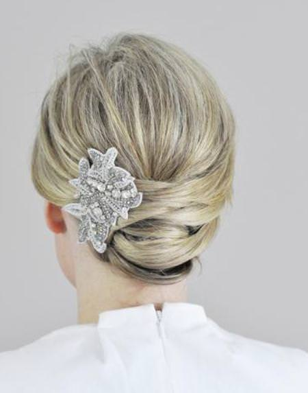 easy wrapped updos for women