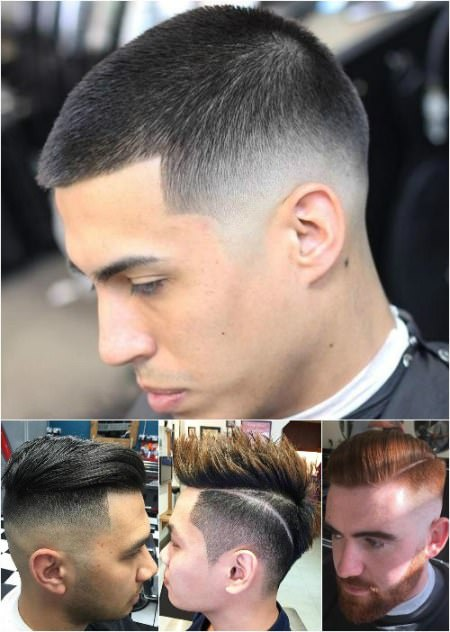 fade haircut hairstyles and haircuts for men