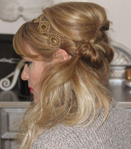 fancy and full side ponytail messy ponytail hairstyles