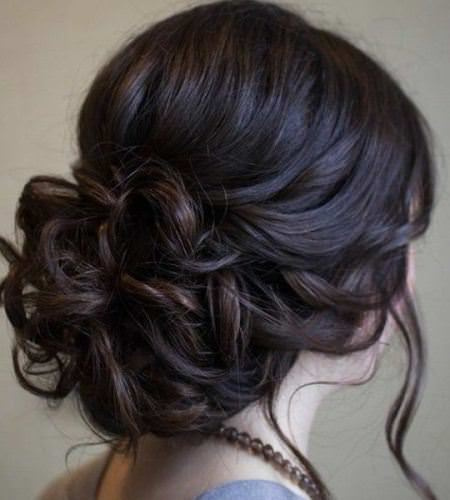 gorgeous waved long hair updos for long hair