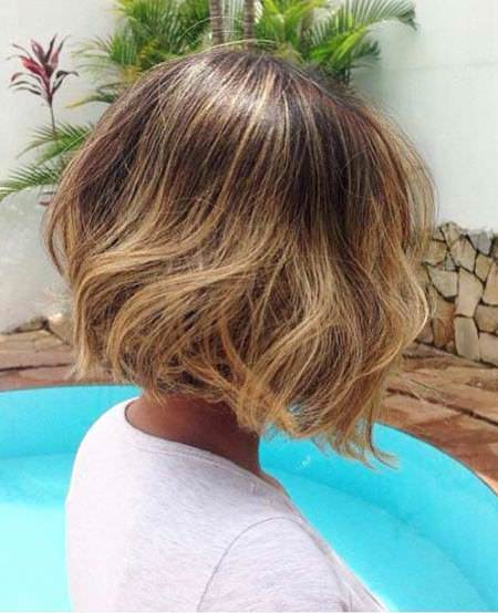 honey blonde balayage balayage short hair looks