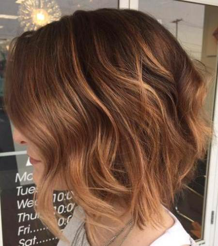 honey brown balayage balayage short hair looks