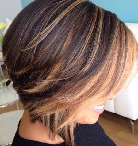 layered dimensional style balayage short hair looks
