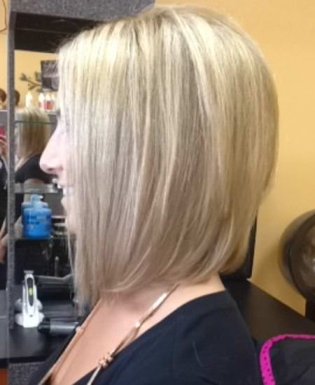 mid length angled bob medium bob hairstyles