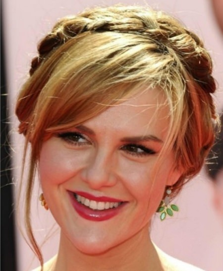 milkmaid braid updos for women over 40